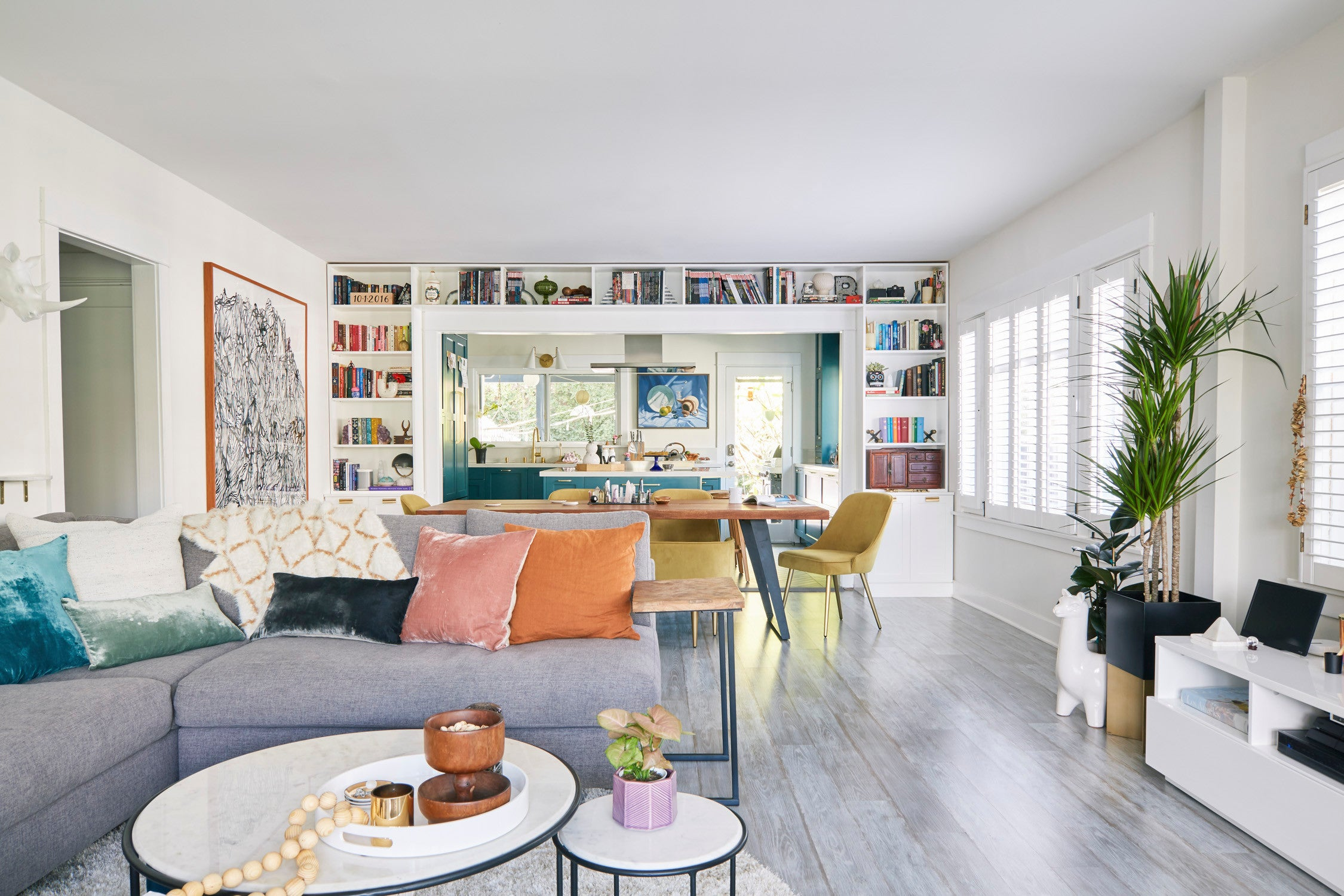 This Designer Renovated a 100-Year-Old Home While Pregnant