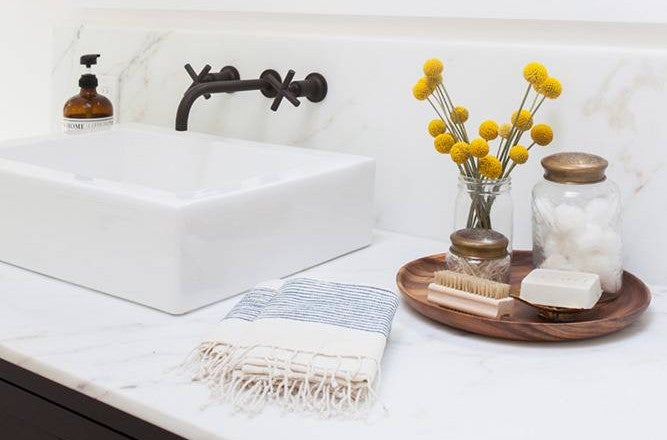 Your Biggest Bathroom Storage Dilemmas Solved Domino