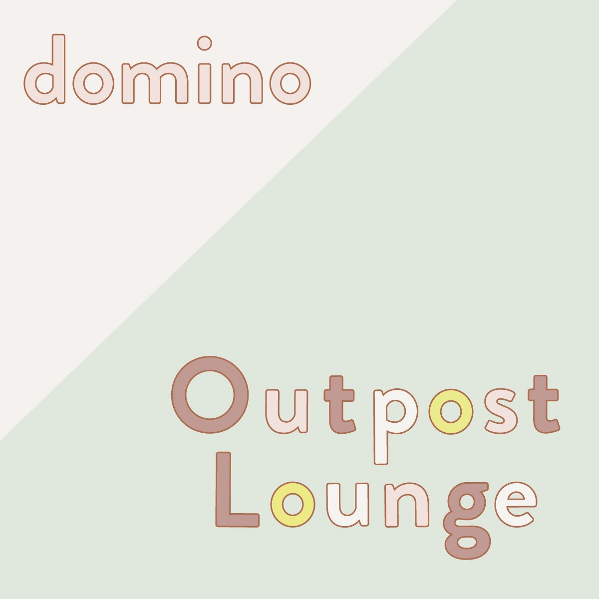 domino outpost lounge hamptons logo