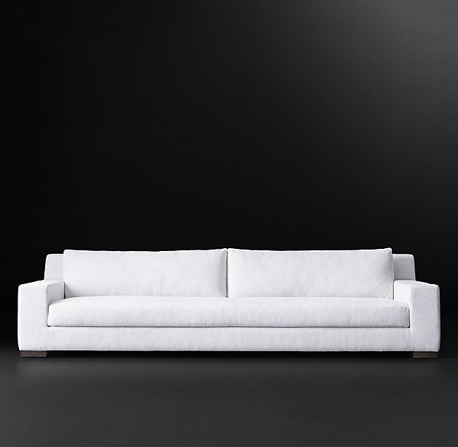 white living room sofa