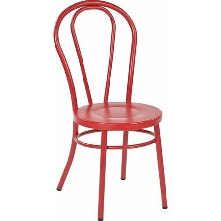 05- metal chair