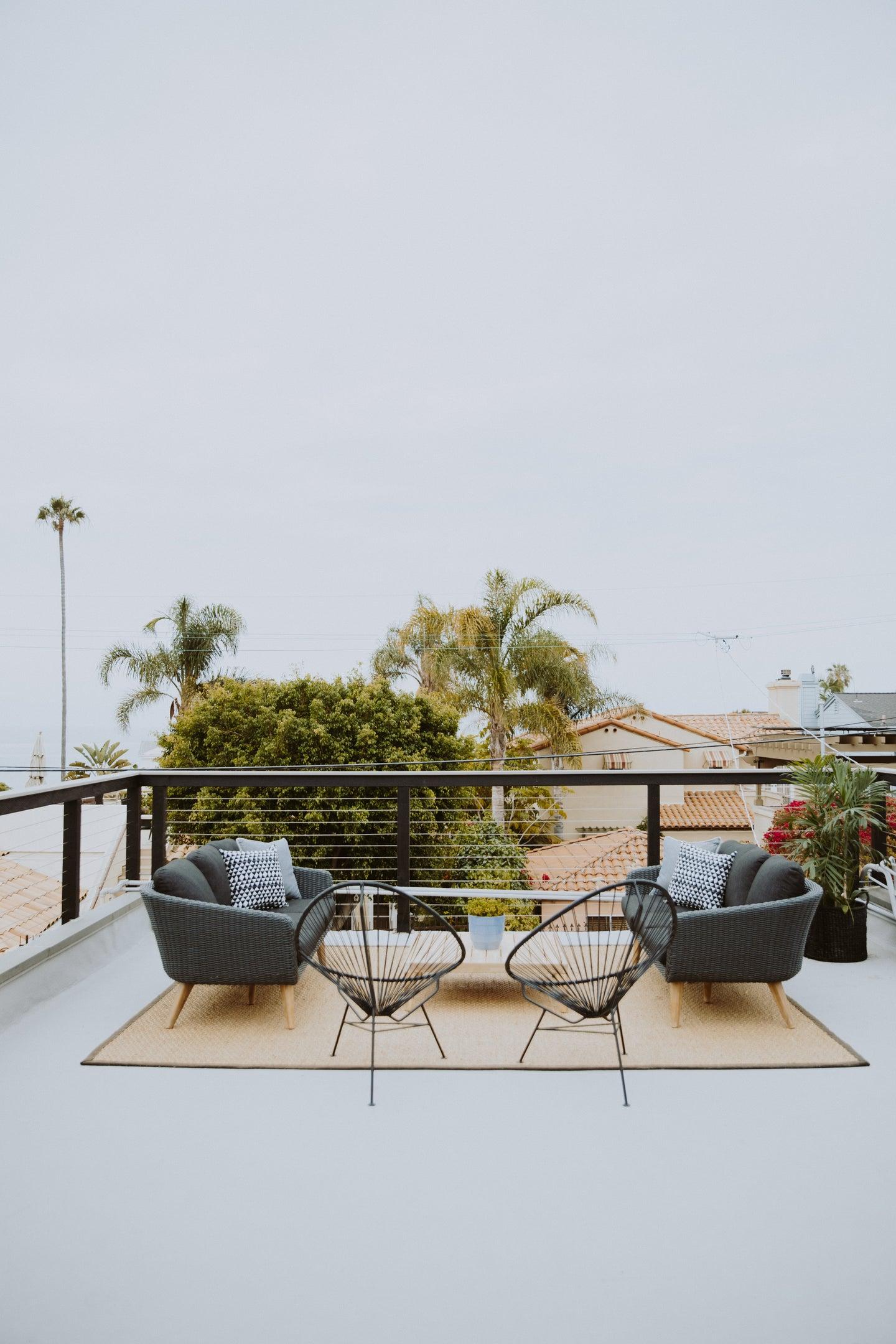 beach front patio