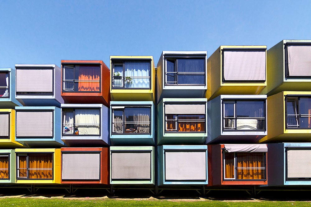 colorful spacebox cubes