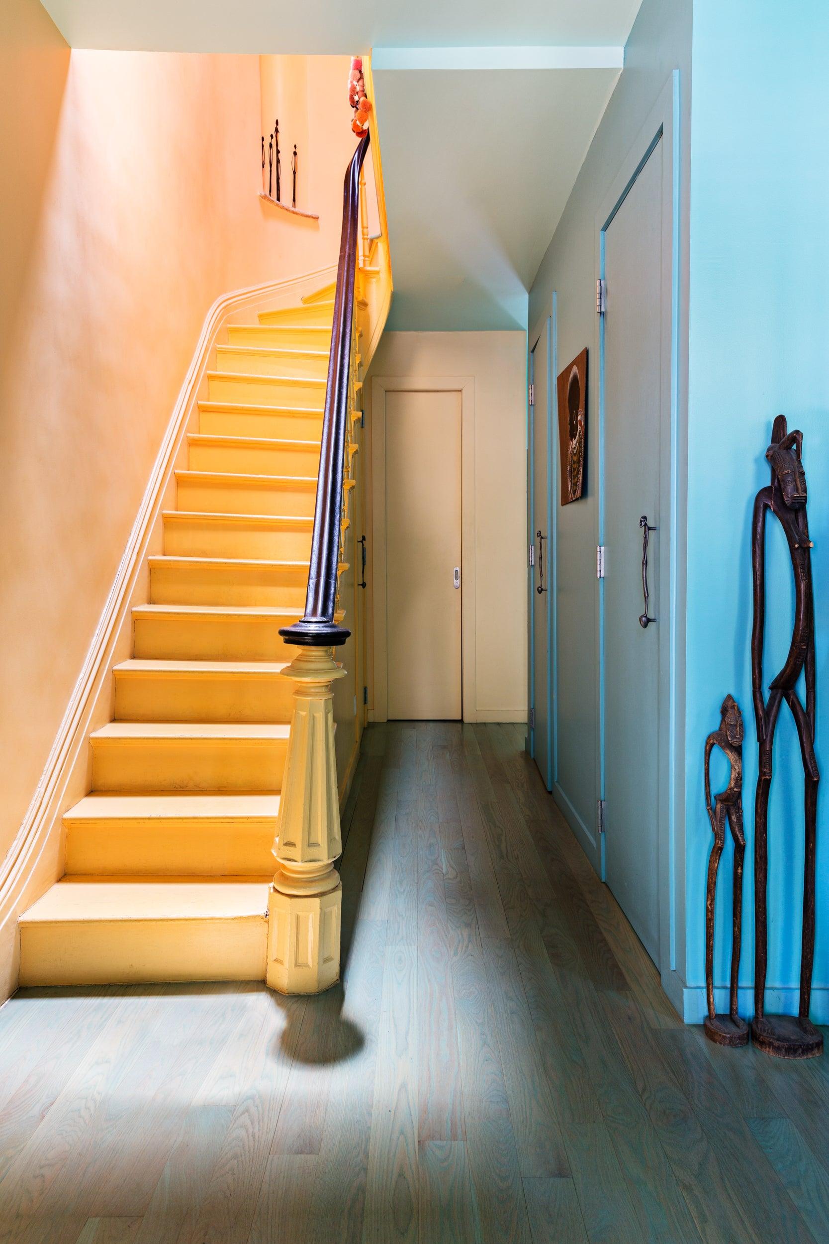 malene b brooklyn stairs entry