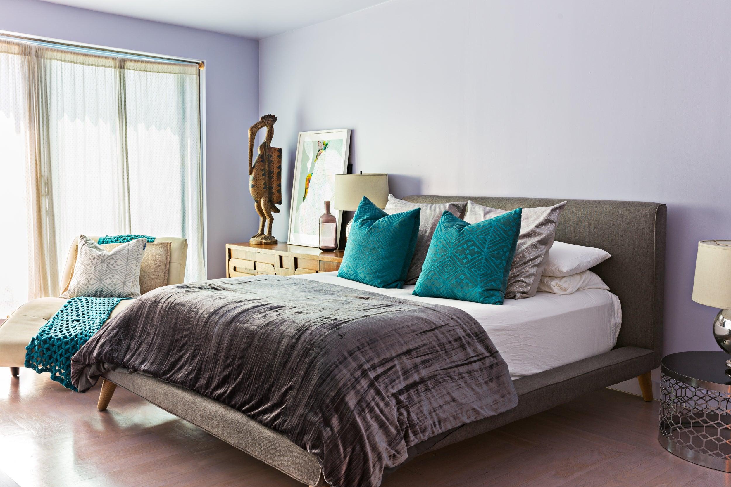 malene b brooklyn home bedroom