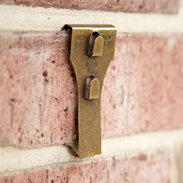 Option 2 Removable Adhesive Hooks For Painted Brick Only