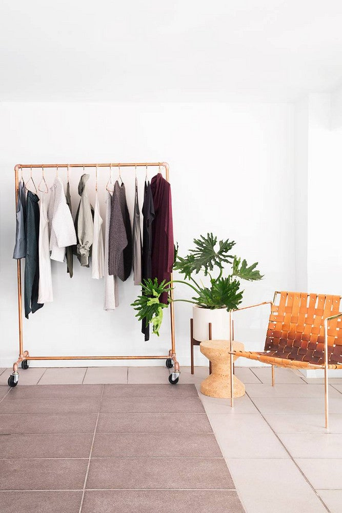 lou and grey nyc store clothing rack