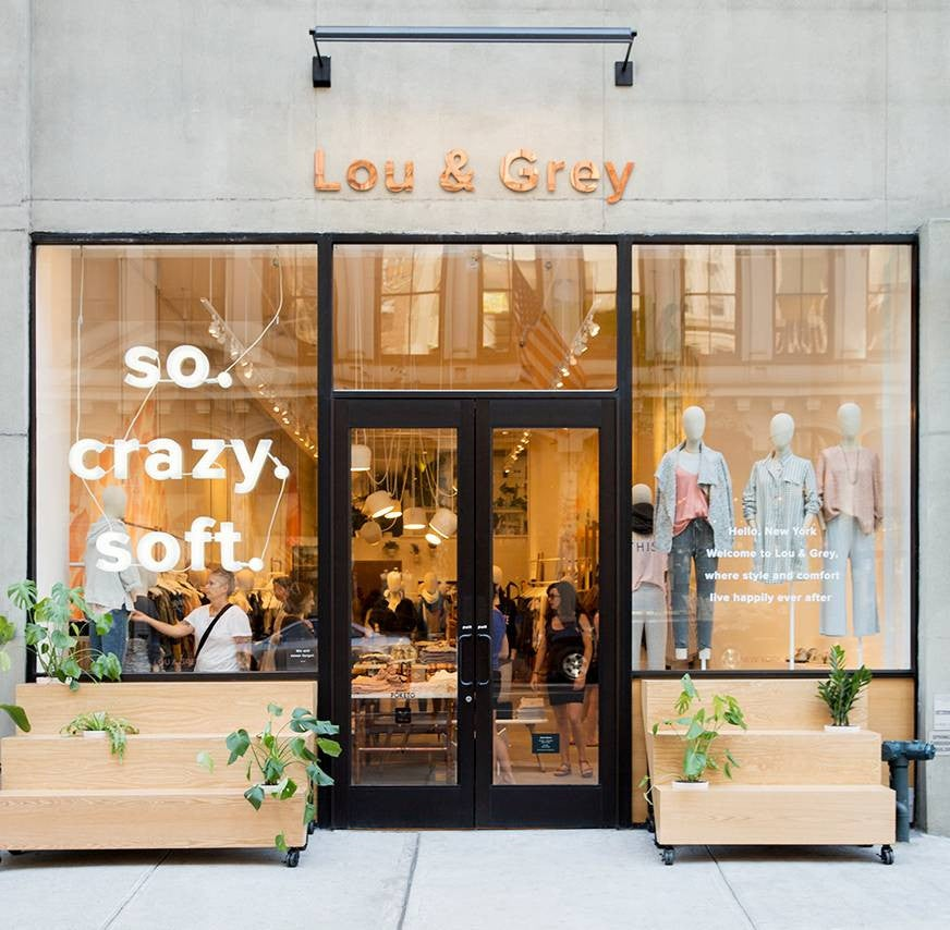 lou and grey nyc store front