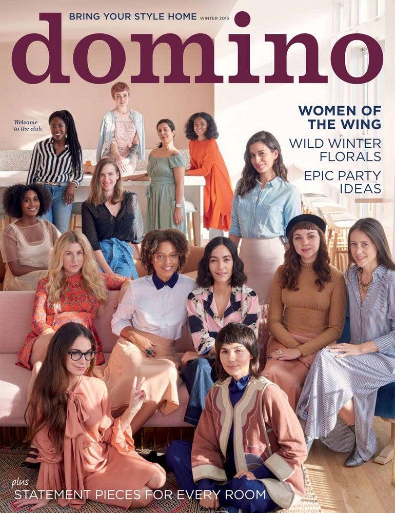 domino magazine winter 2016 cover the wing