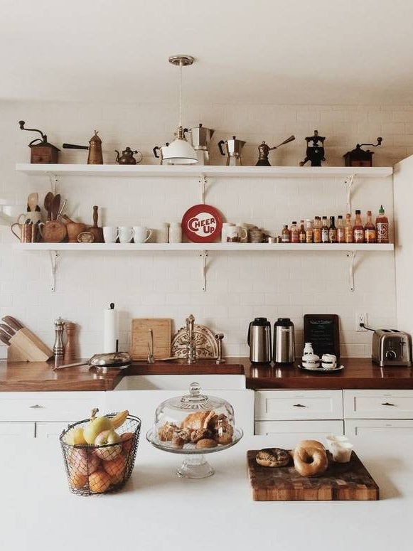 18 Stunning Wood Countertops to Warm Up Any Kitchen