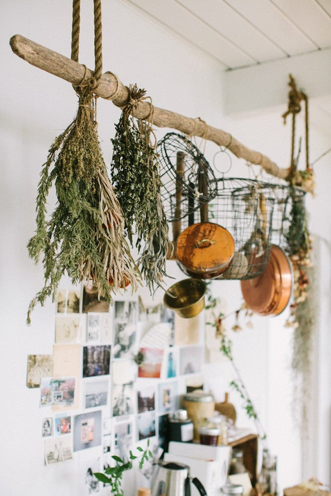 rustic ways to decorate small kitchens