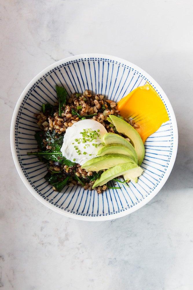 Blue Food kale cashew bowl nickel & diner