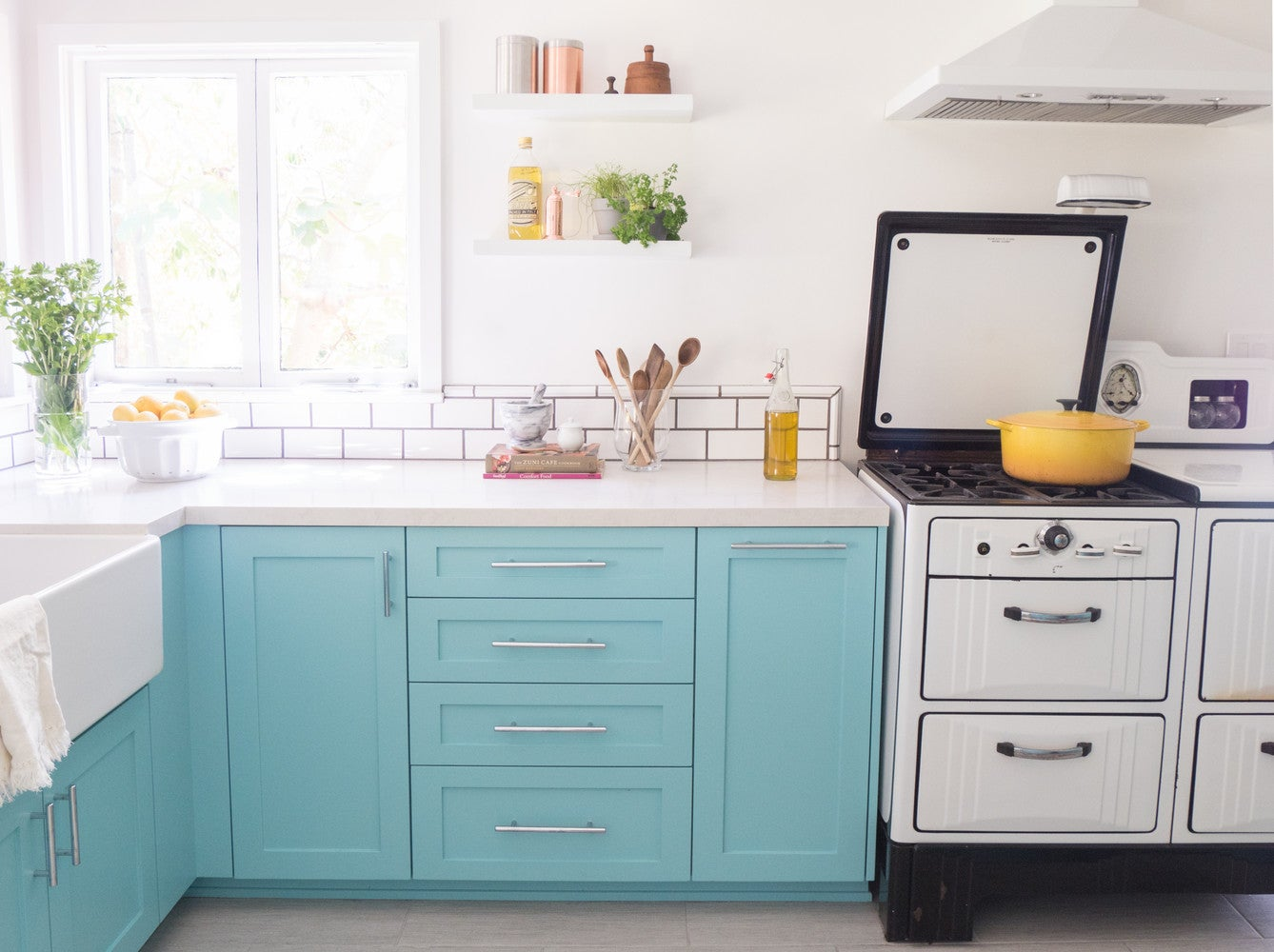 Before and After: A 1920s Kitchen Makeover | Domino