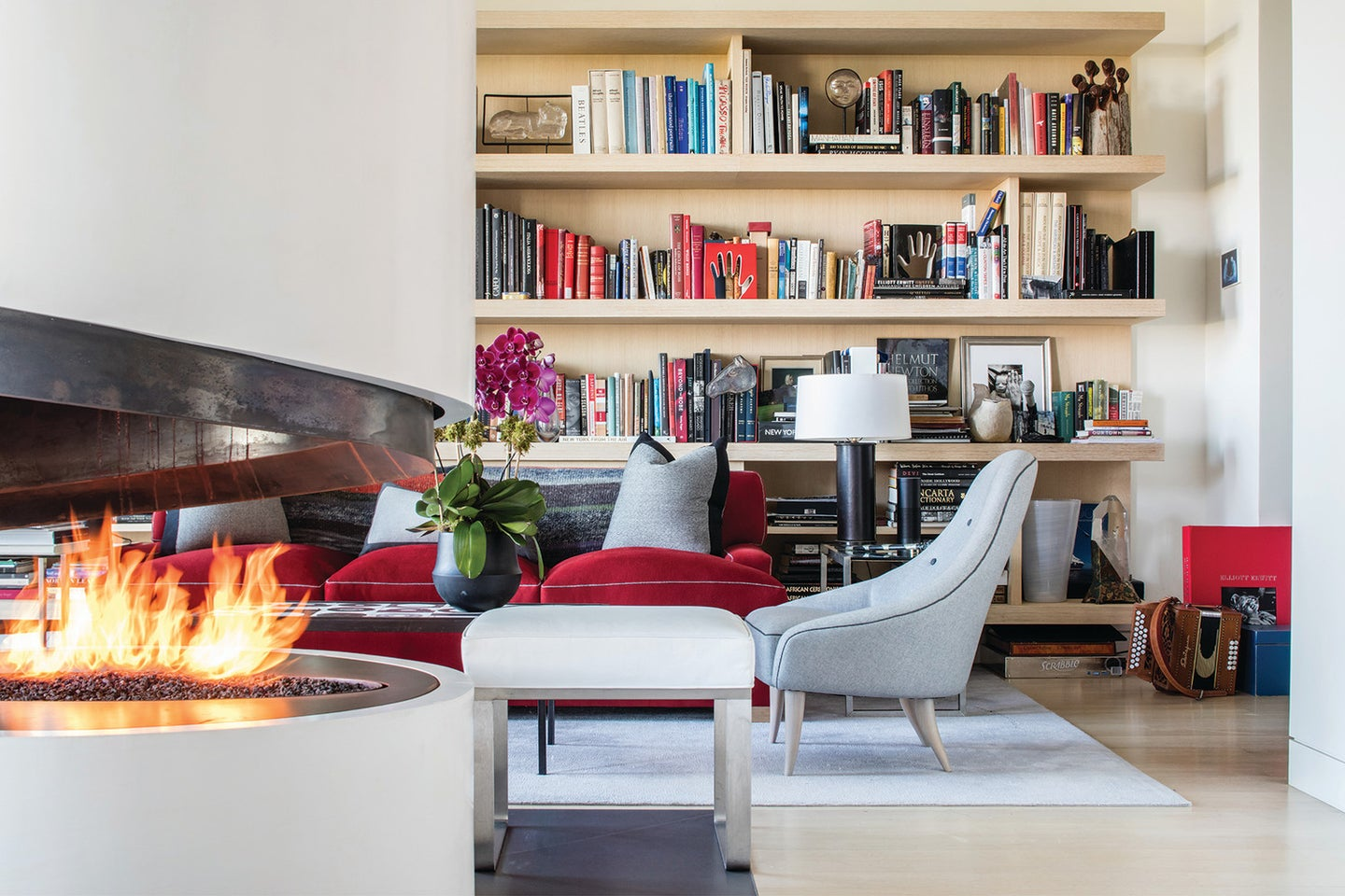 Inside Sting's 15 Central Park West Penthouse: sitting area
