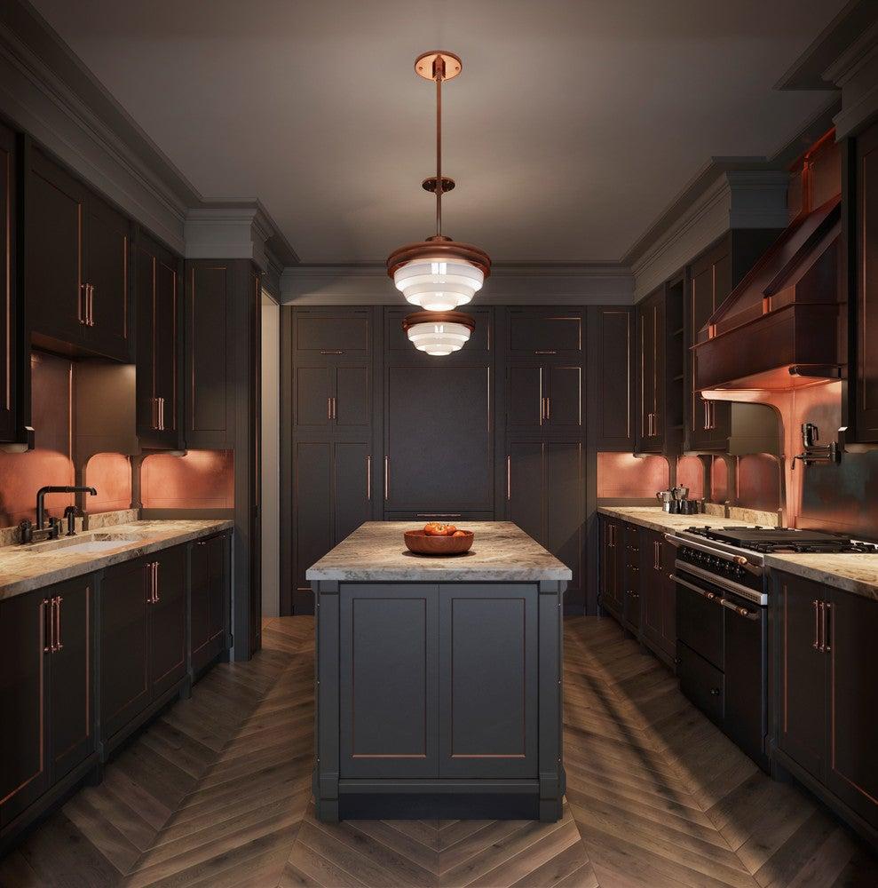 Kitchen Hood Trend Dark Cabinets Walls Kitchen