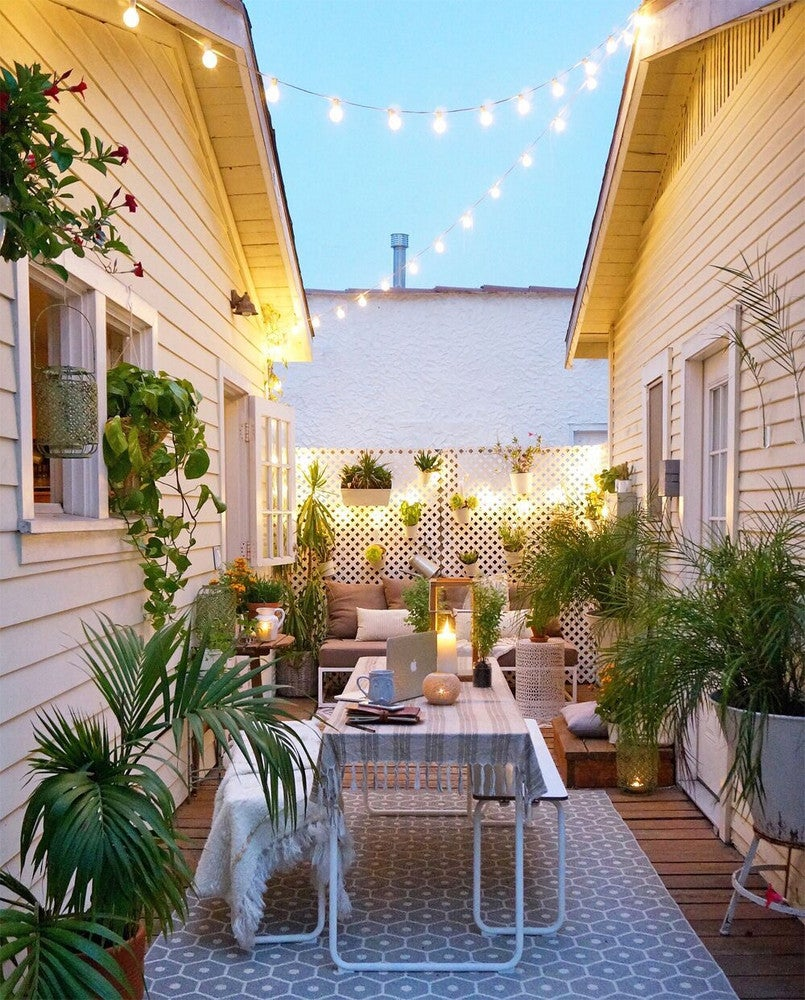 Small Space Gardening & Decorating Tips- Go Vertical