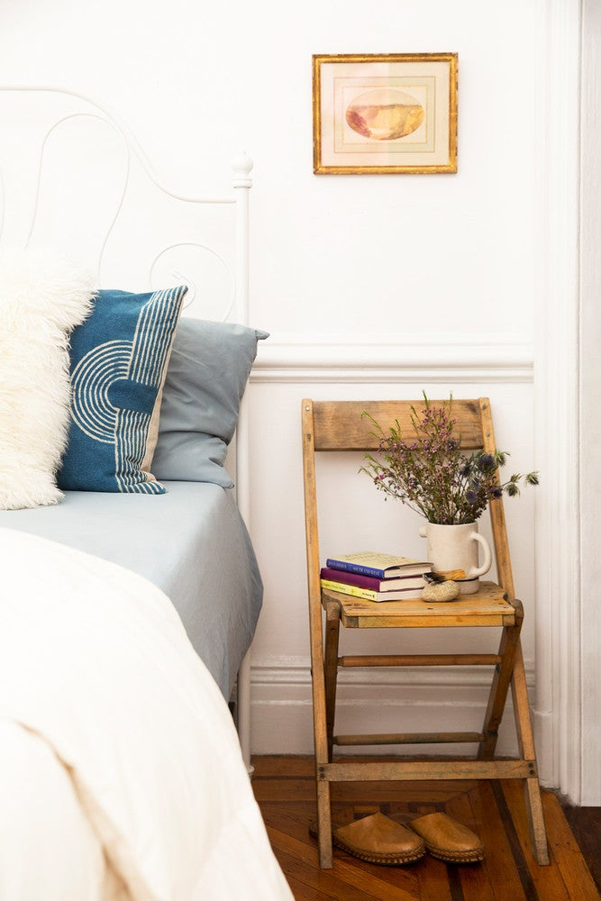 LaTonya Yvette Small Space Home Tour Chair As Night Stand