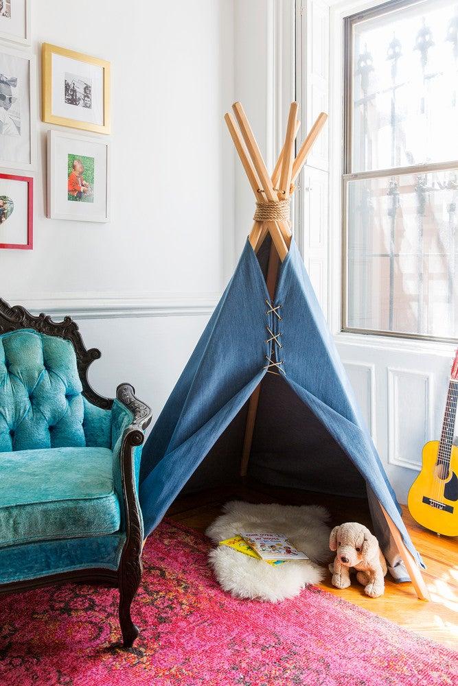 LaTonya Yvette Small Space Home Tour Kids Teepee