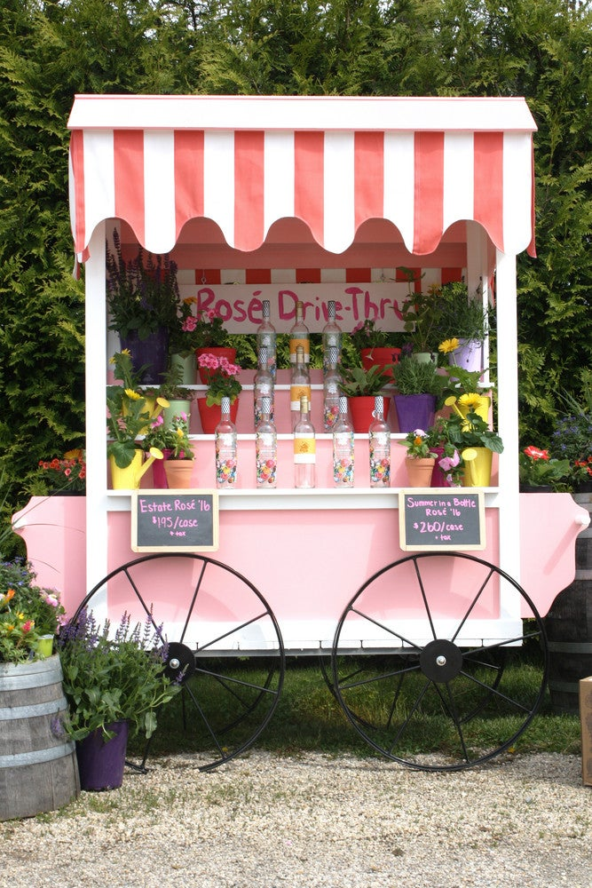 Yes, There Is Such Thing As A Rosé Wine Drive-Thru