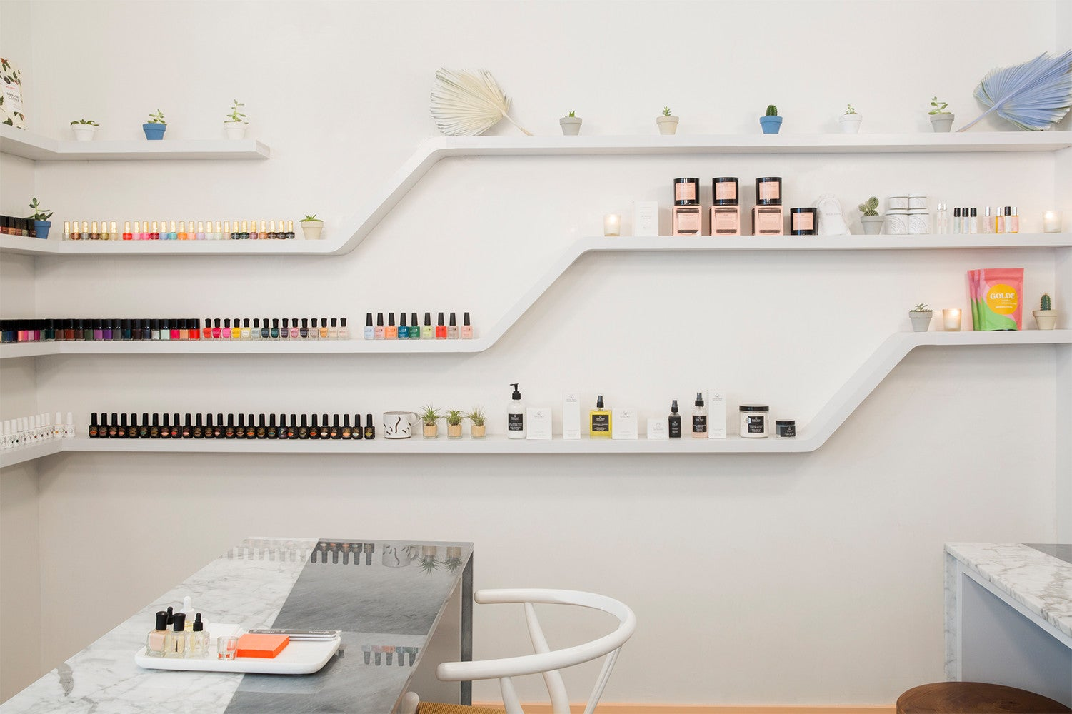 Inside the Cafe-Meets-Nail Salon Everyone's Talking About in NYC