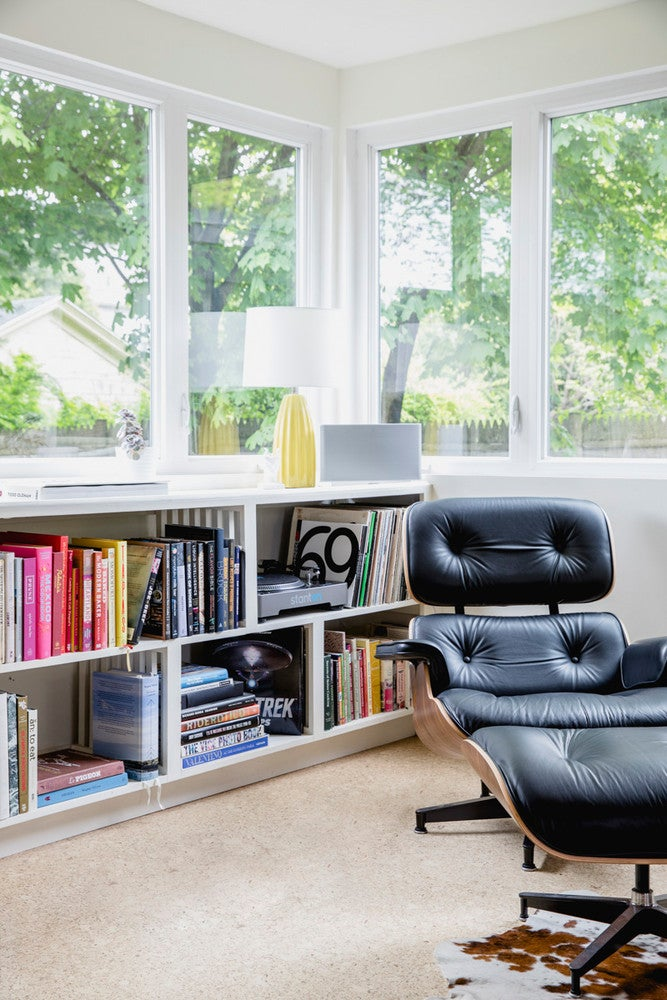 mid century home eames lounger