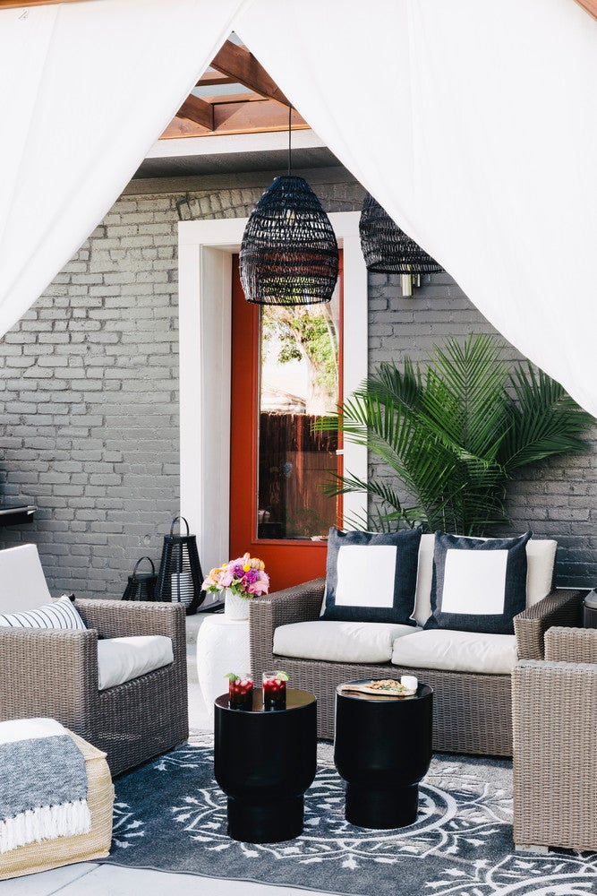 Inside A Chic & Modern Patio Makeover