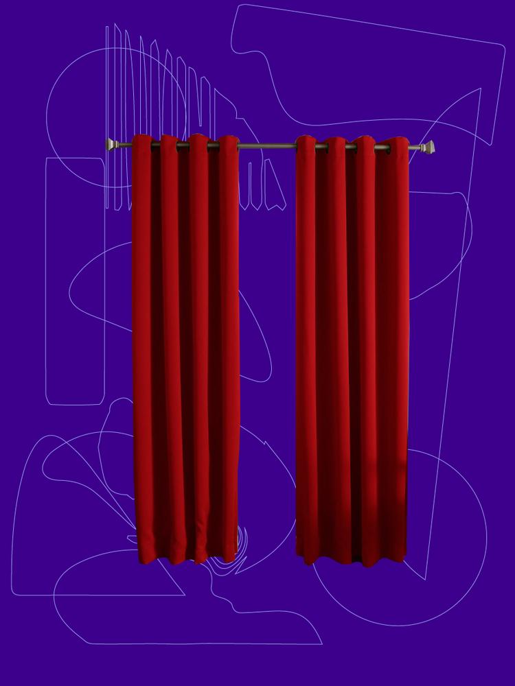 pom pom blackout curtains leading edge emily merritt pompom blackout drape the best curtains to buy for better sleep domino
