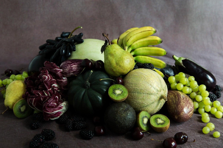 fruit centerpieces green formal dinner