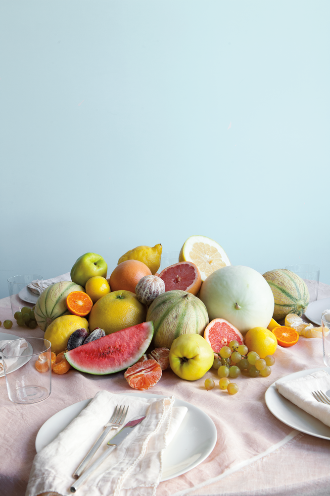 fruit centerpieces arrangement