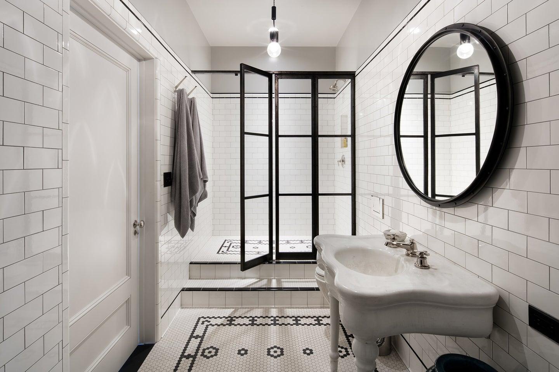 meg ryan new york home master bathroom