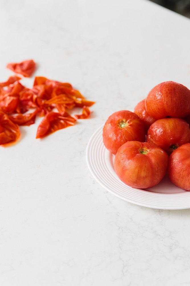 This Is the Easiest Way to Peel Tomatoes