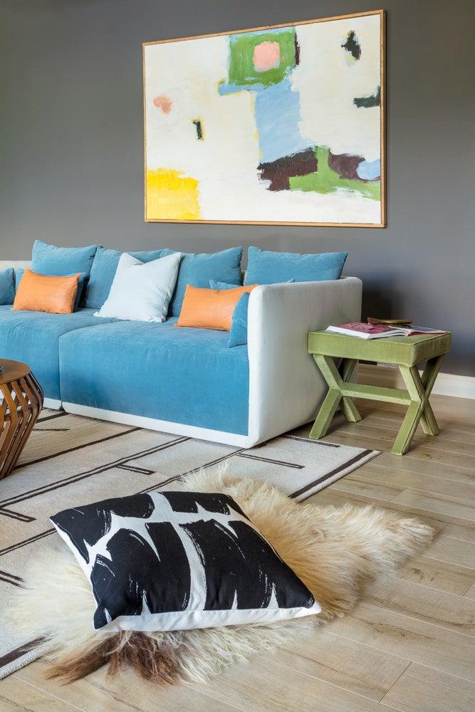 Abstract Art Living Room Decor