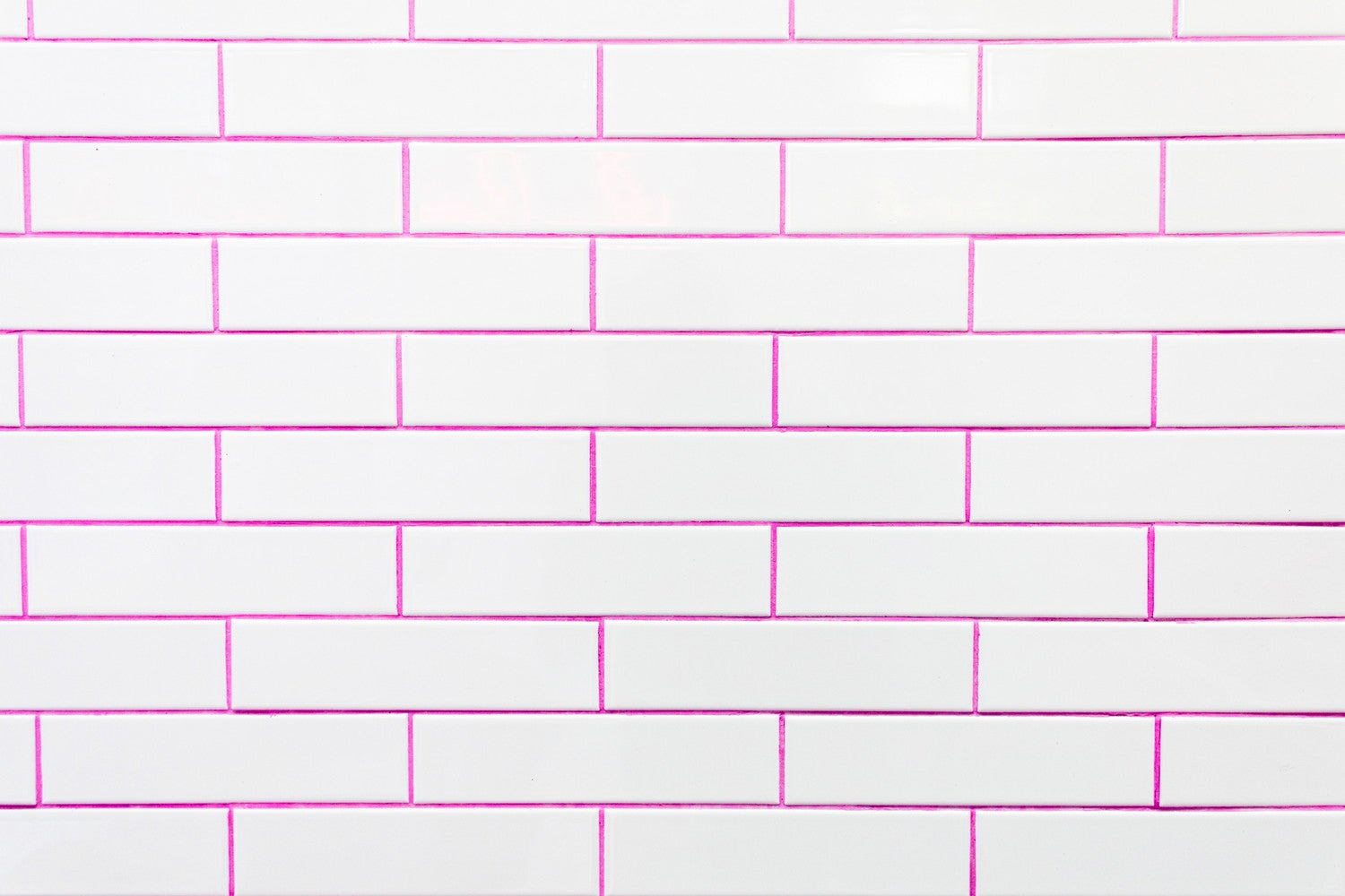 tiny spaces loco coco colored grout