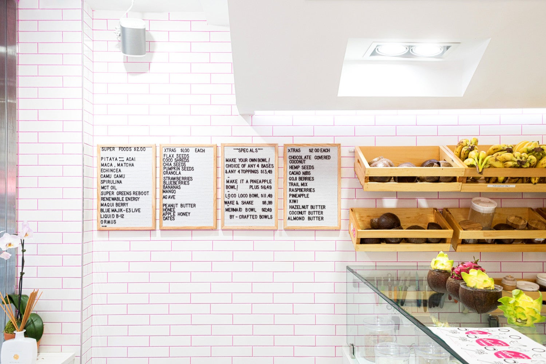 tiny spaces loco coco menu inspiration