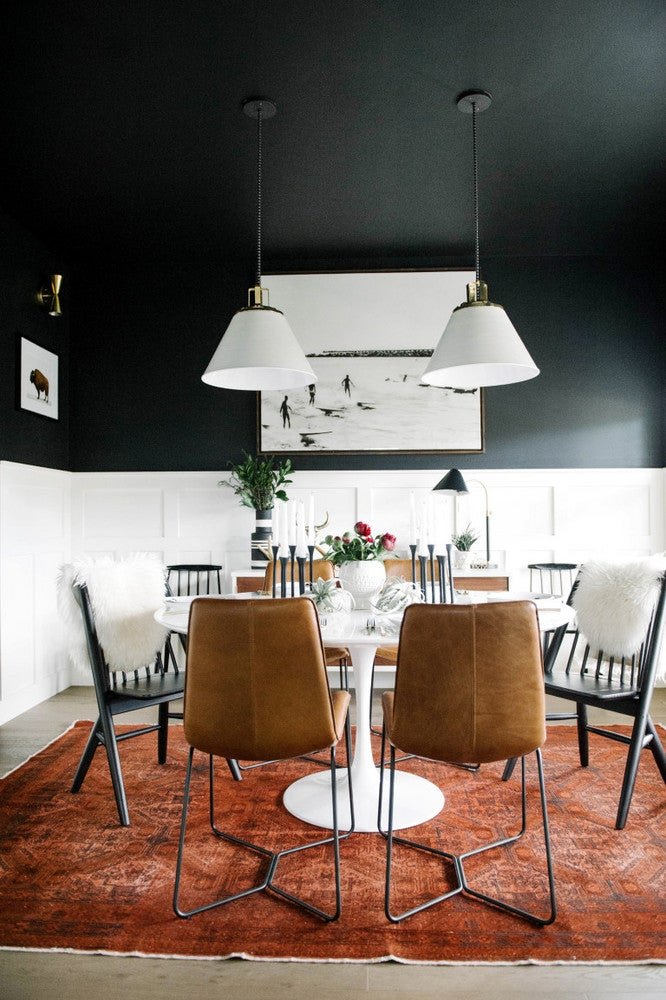 How to use black paint to spice up your home decor