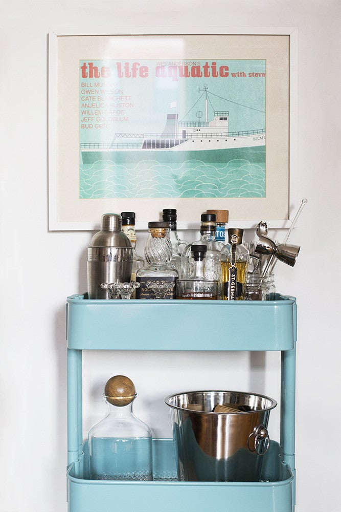 How to Properly Stock a Bar Cart