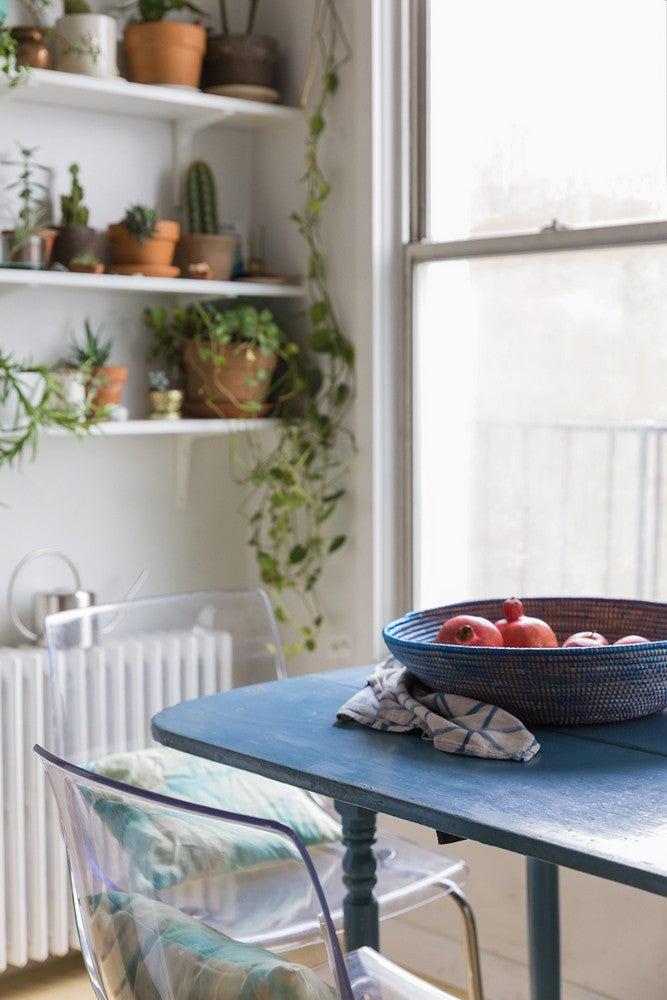 plants kitchen home tour