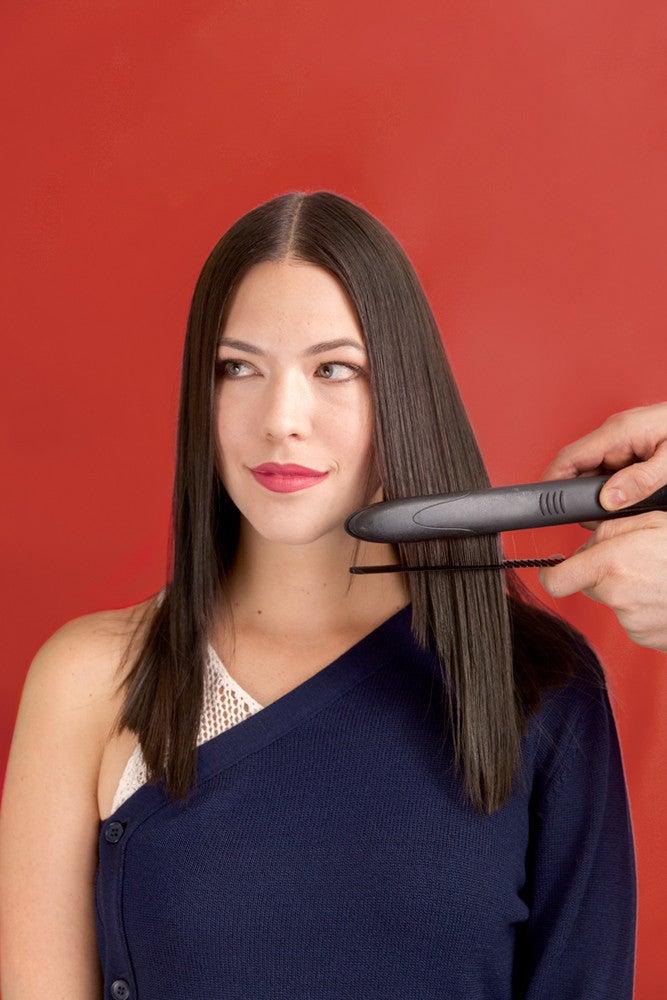 straightening fine hair flat iron