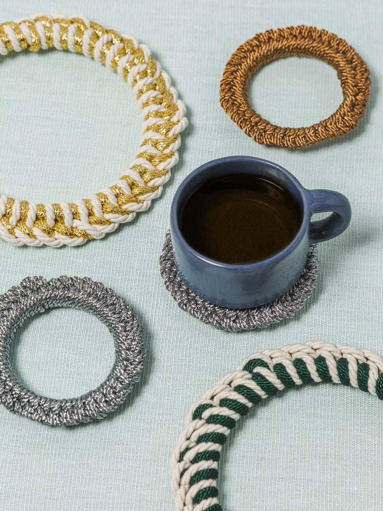 These Trendy DIY Rope Trivets Are Cute and Functional