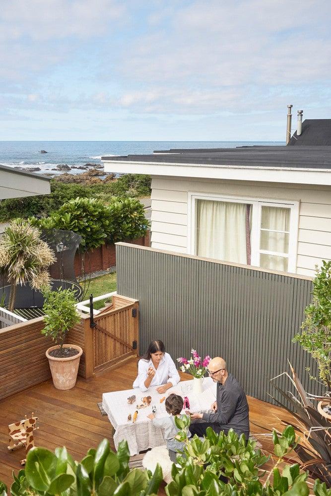 New Zealand seaside home