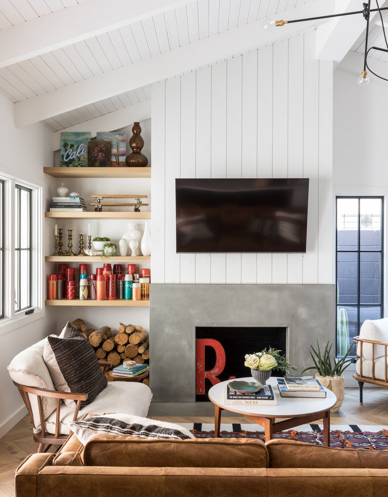 Spanish Style Meets Surfer Chic in this Eclectic Home