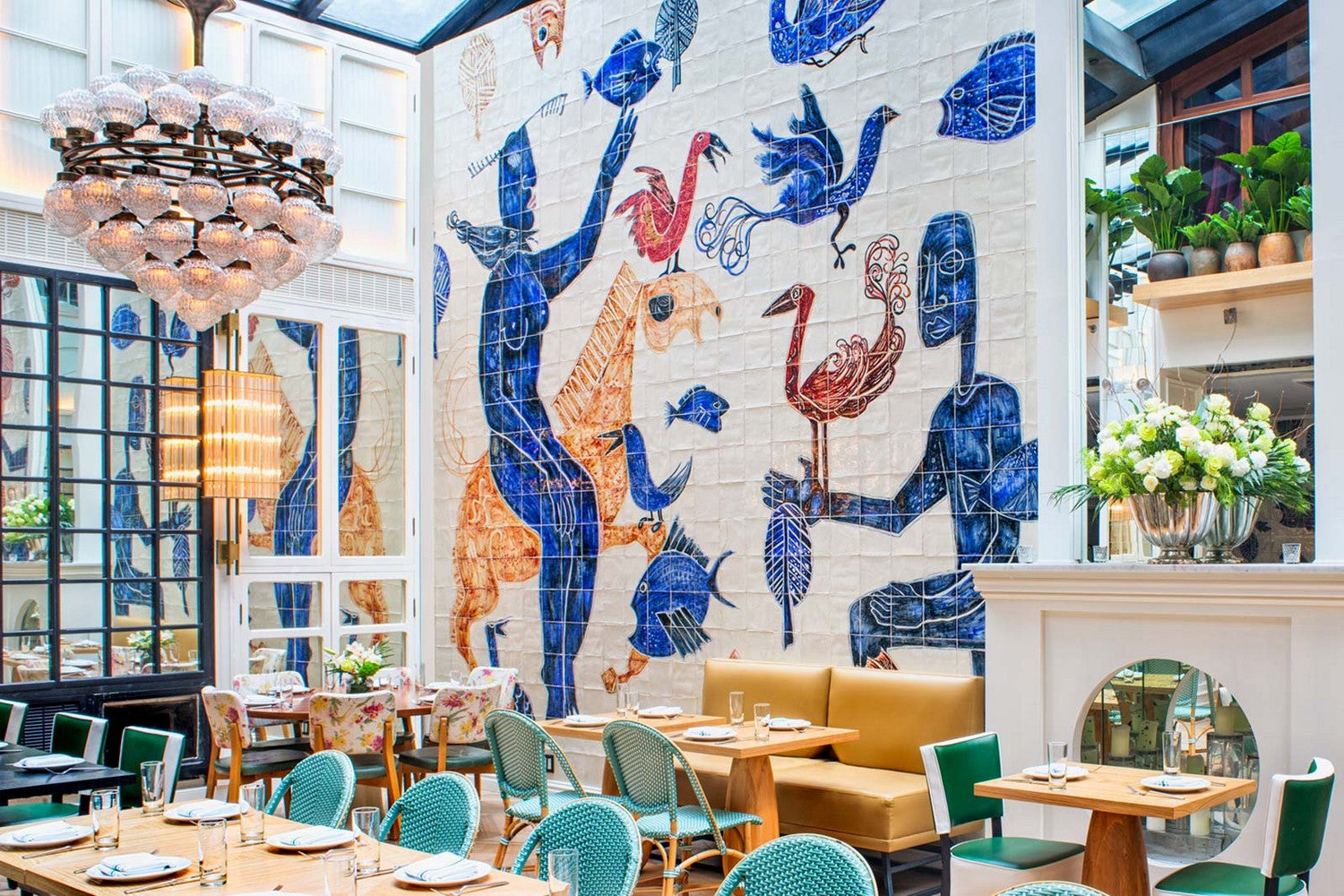 The Most Insanely Colorful Restaurants on Earth