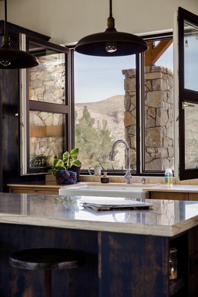 modern nevada home kitchen