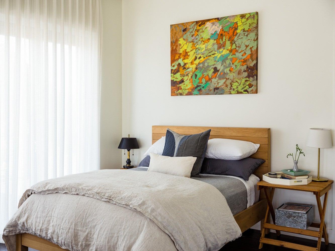 modern nevada home bedroom
