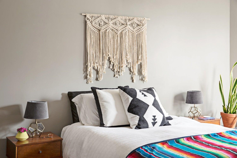 tribal decor in the bedroom