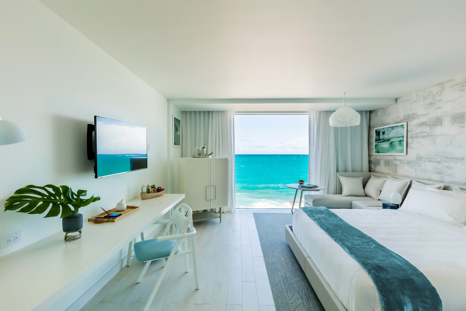 Stupendous New Serafina Beach Hotel In Puerto Rico Design Review Home Remodeling Inspirations Gresiscottssportslandcom