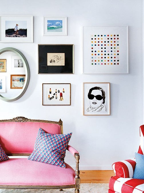 Pink Sofas Are Our Favorite Living Room Eye Candy