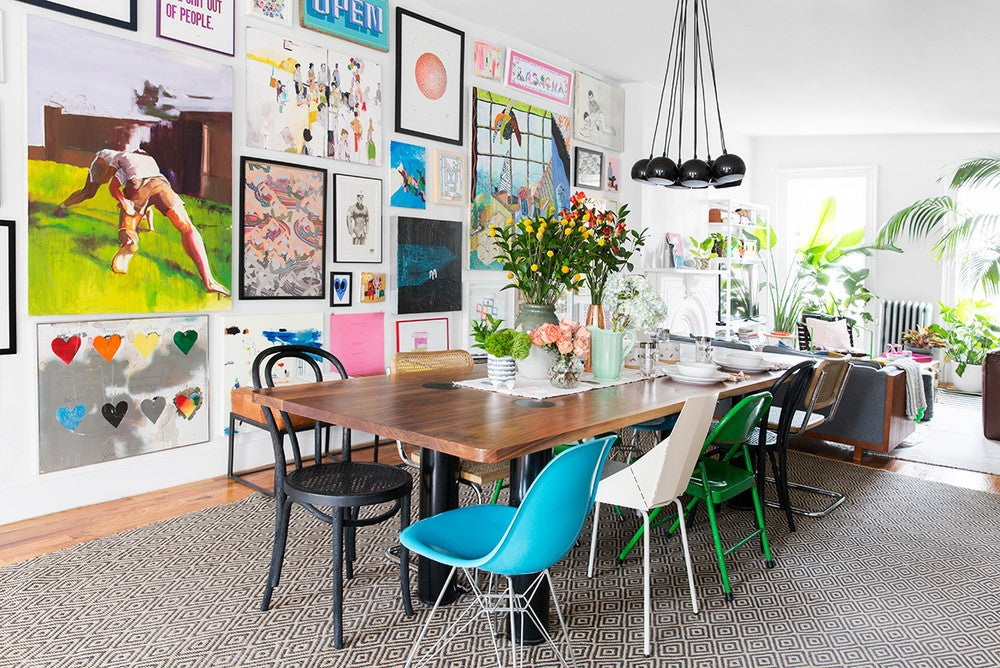 How to Mix and Match Your Dining Room Chairs and Actually Pull it Off