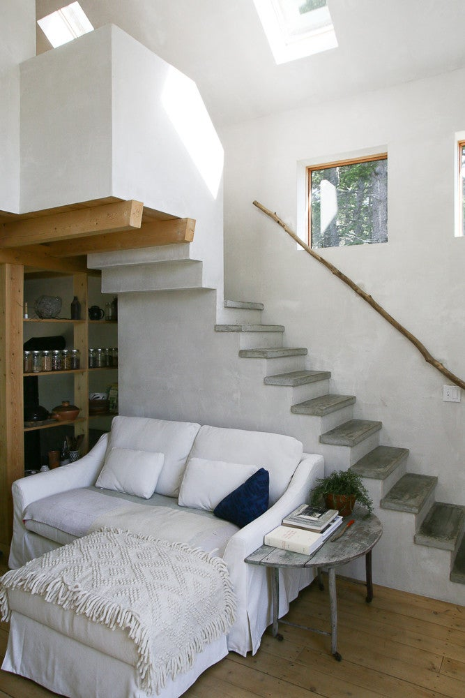 rustic small space Maine