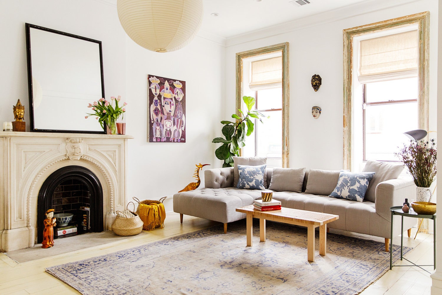 Modern Brooklyn Brownstone Apartment Tour From The 1890s